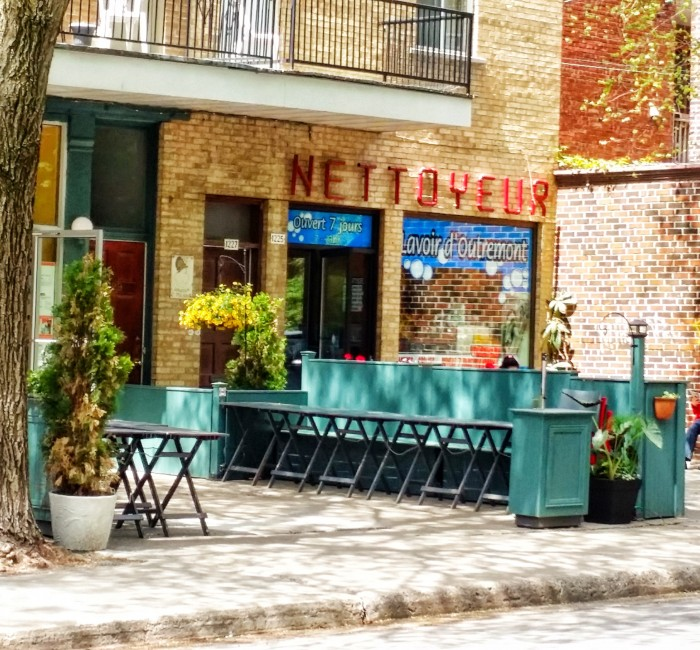 Outremont Neigborhood, Outremont Streets and Hangouts, Nettoyeur