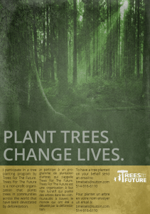 Plant Trees Save Lives