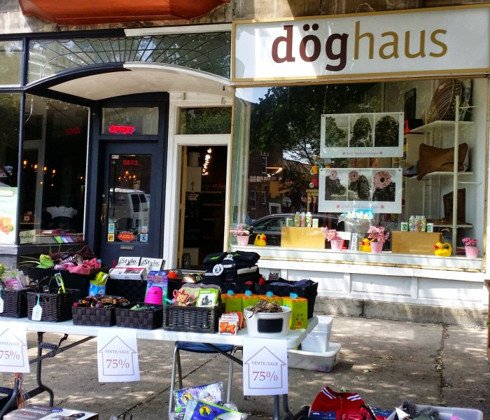 NDG, Sherbrooke, Great Petshop Doghaus