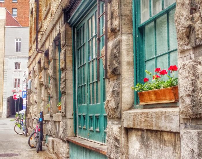 Old Montreal Neighborhood