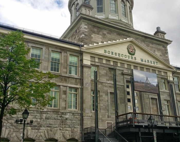 Old Montreal Bonsecour Market
