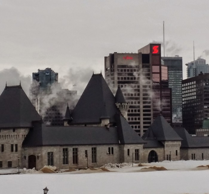 Downtown Montreal Skyline