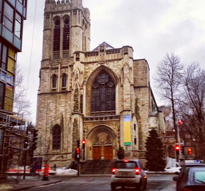 Downtown Montreal Real Estate, Church on Sherbrooke West