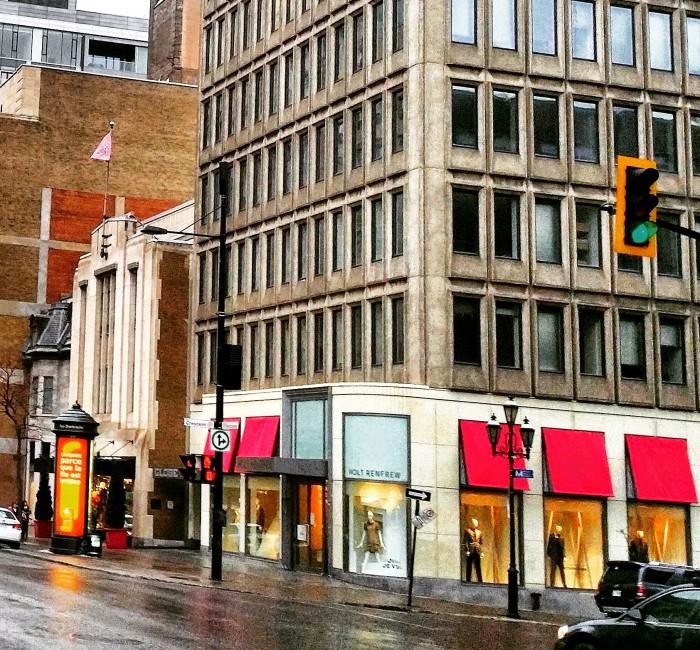 Downtown Montreal Real Estate, Holt Renfrew