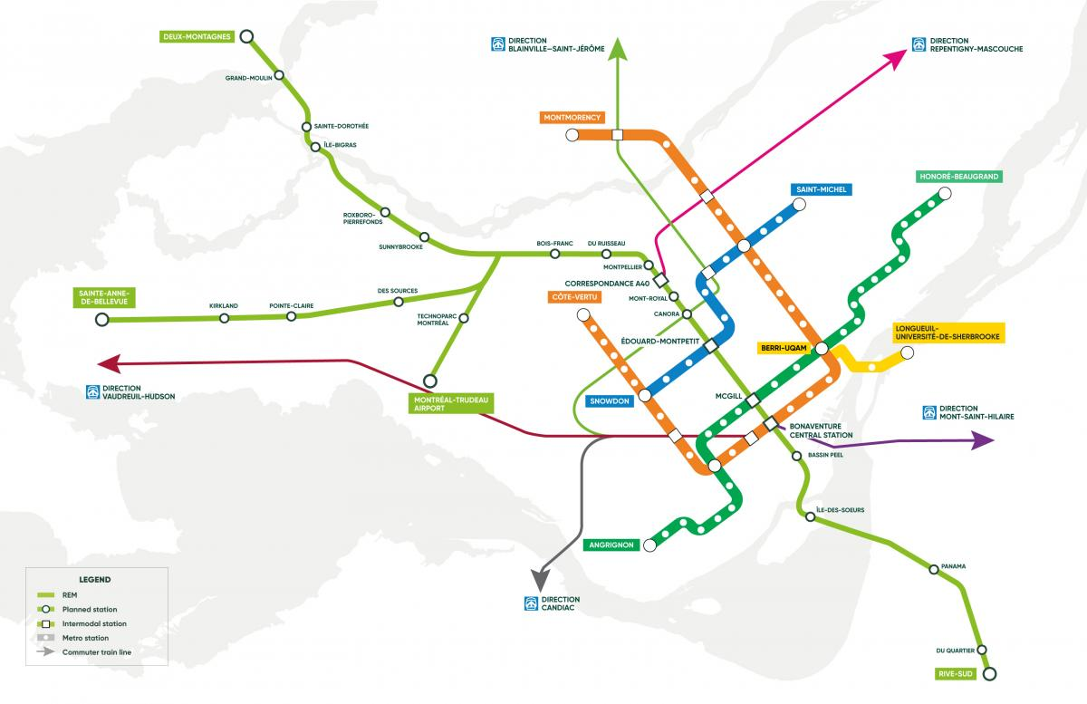 What The New REM Transport Network Means For Montreal Real Estate