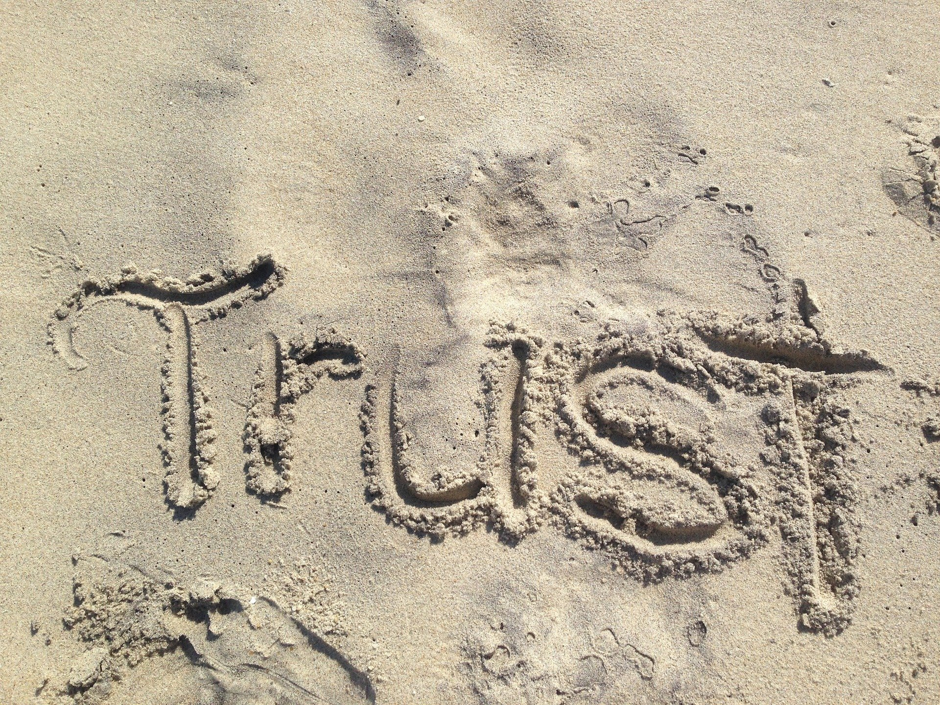 Trust is gold